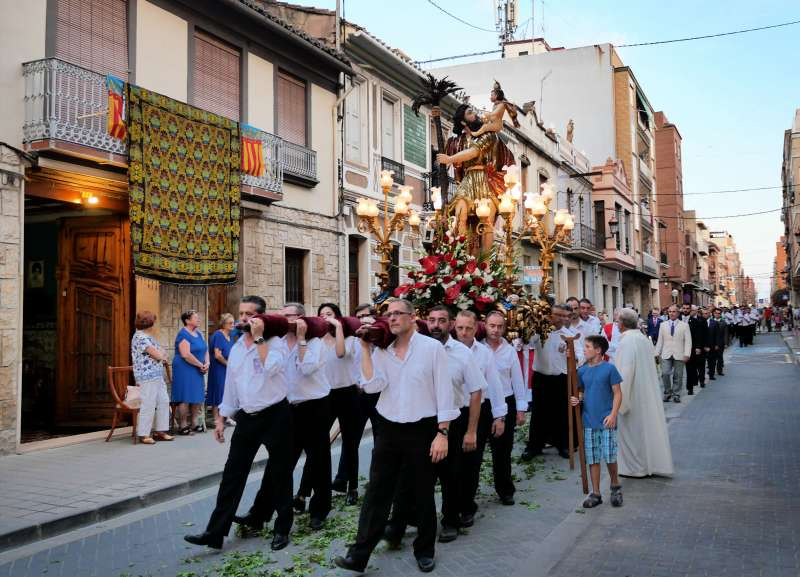 Processó de Sant Cristòfol. EPDA