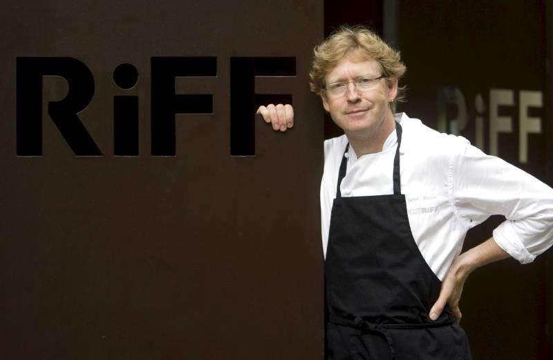 El cocinero Bernd Knöller en su restaurante, RiFF. EFE/Archivo