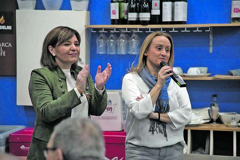 Bonig y Garrigues en la presentación de la candidatura. / epda