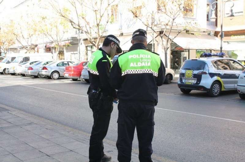 Agentes de Policai Local de Aldaia