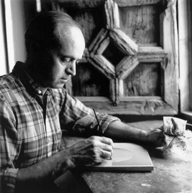 Eusebio Sempere (Onil, Alicante 1923-1985), en una imagen de 2009.
