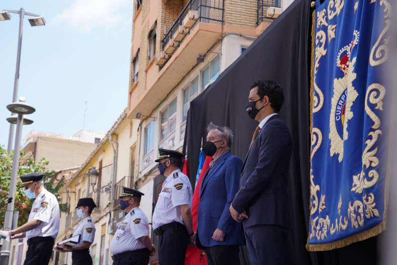 Bastón de mando Comisaria Paterna. EPDA