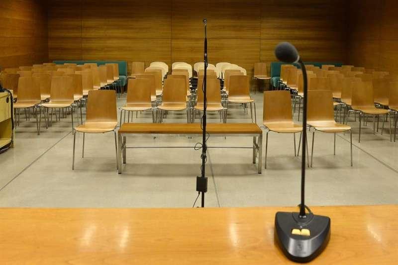 Vista de una sala de juicios. EFE/Archivo