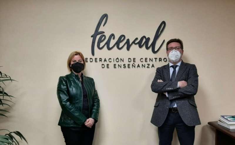Mariola Hernández y Alberto Villanueva.EPDA