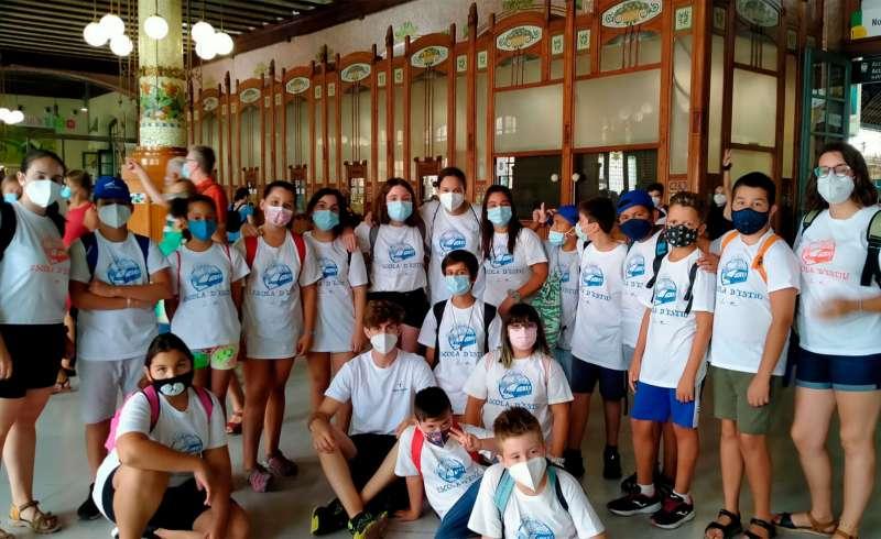 Algunos participantes de la Escuela de Verano de Sagunt. / EPDA
