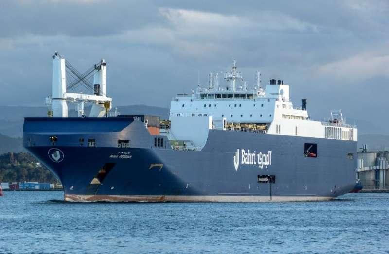 El buque Bahri Jeddah. / Luis Prieto (Vesselfinder)