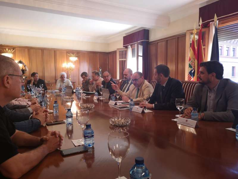Reunión celebrada en Teruel. EPDA