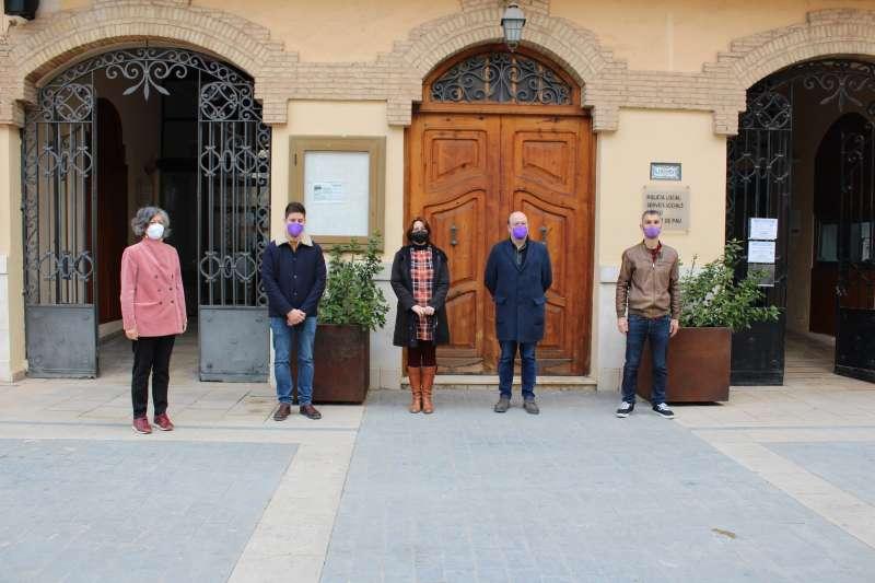 Visita de la consellera a Almàssera. EPDA