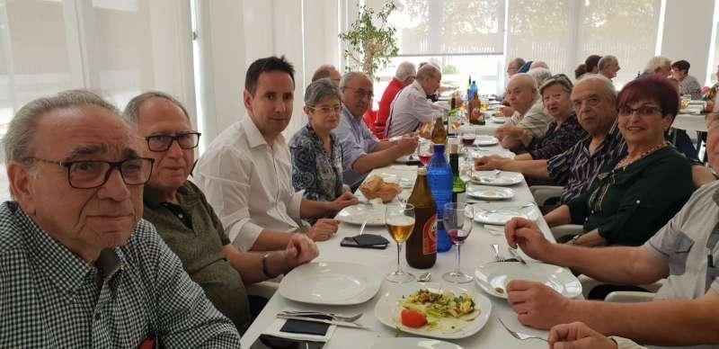 La Federación de las Asociaciones de Jubilados y Pensionistas del Horta Nord, celebró en Foios la Asamblea mensual