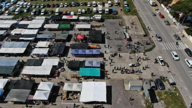 El mercat el diumenge de Pasqua/EPDA