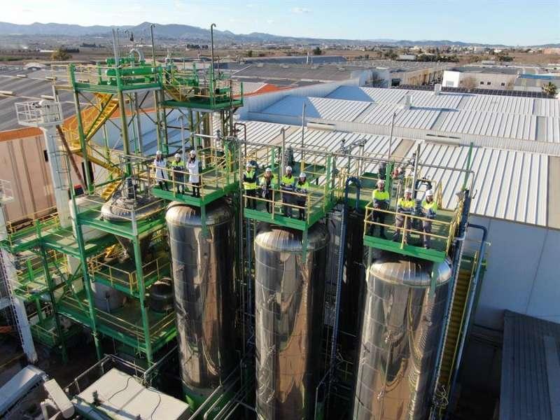 Una imagen de las instalaciones, facilitada por la empresa. EFE