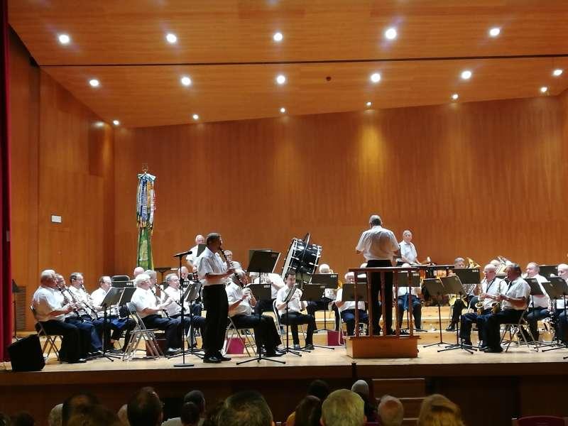 Extraordinario concierto de la Banda U.D.P.  Lliria ? Camp de Turia ? Serranos