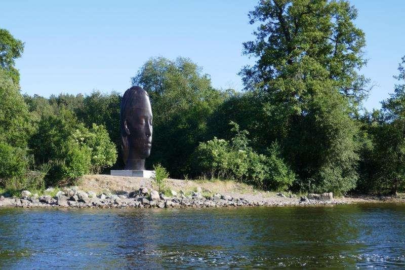 Una imagen de una escultura de Jaume Plensa, facilitada por la Fundación. EFE