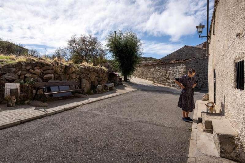 Vista de una localidad de interior, que tiende a la despoblación. EFE/Archivo