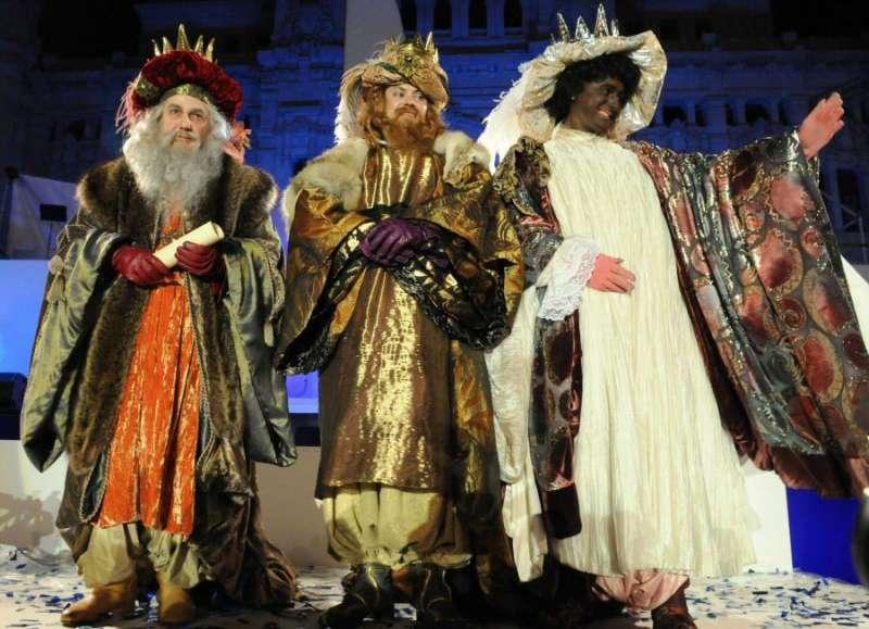 Los Reyes Magos. //EPDA