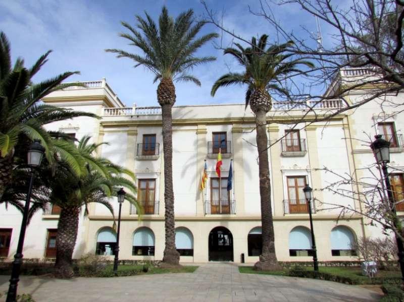 Edificio del Ayuntamiento de Moncada
