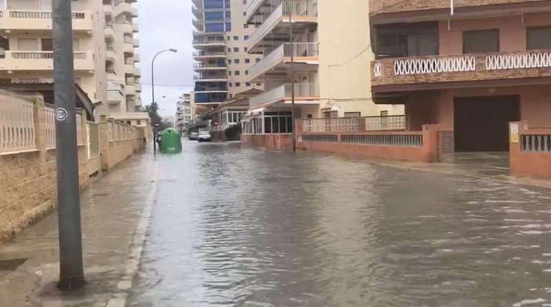 Inundaciones en el municipio