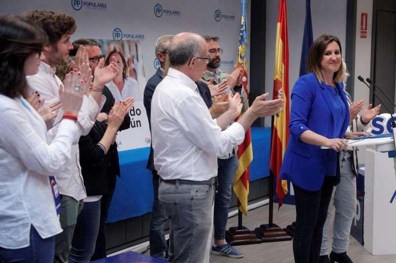La vicesecretaria de política social del Partido Popular de la Comunitat Valenciana (PPCV), Maria José Catalá. EFE/Archivo
