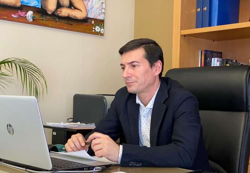 El alcalde de Burjassot, Rafa García. EPDA