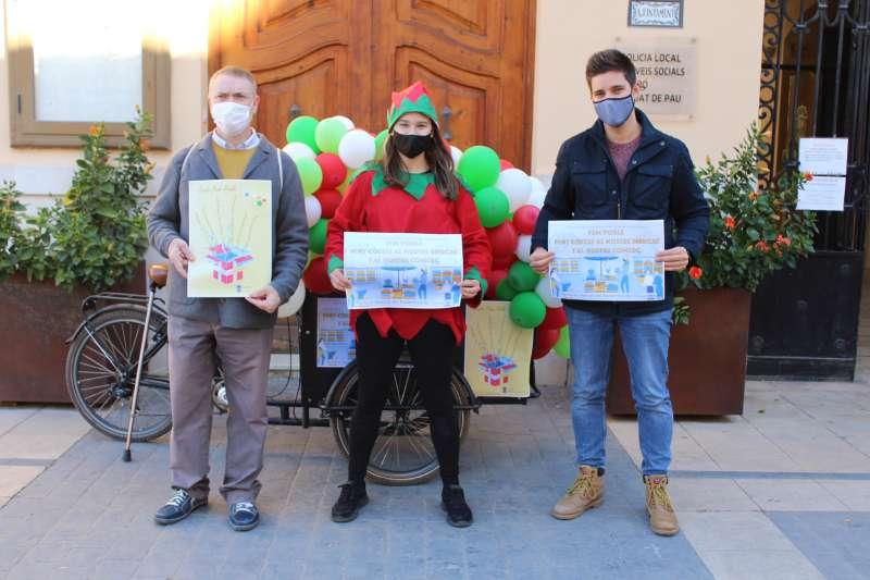 Campaña en el mercado de Almàssera. EPDA