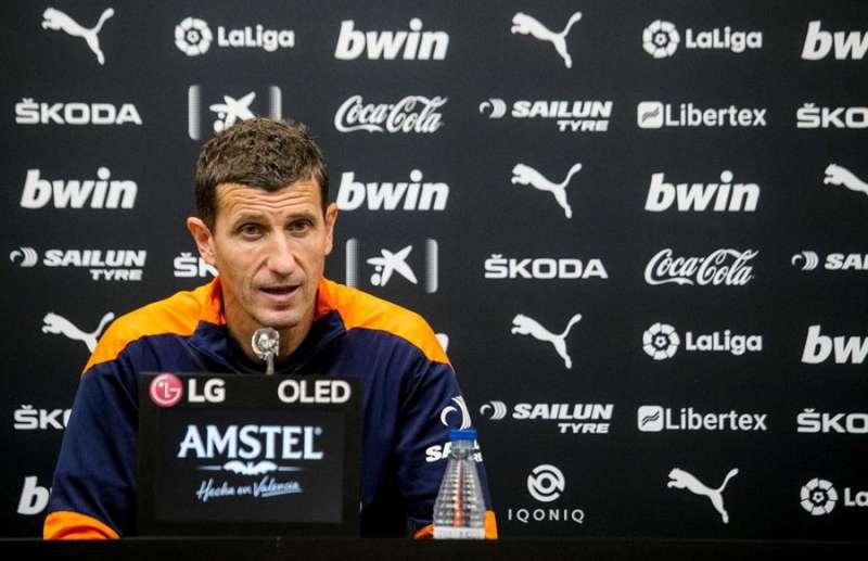El entrenador, Javi Gracia. / EPDA