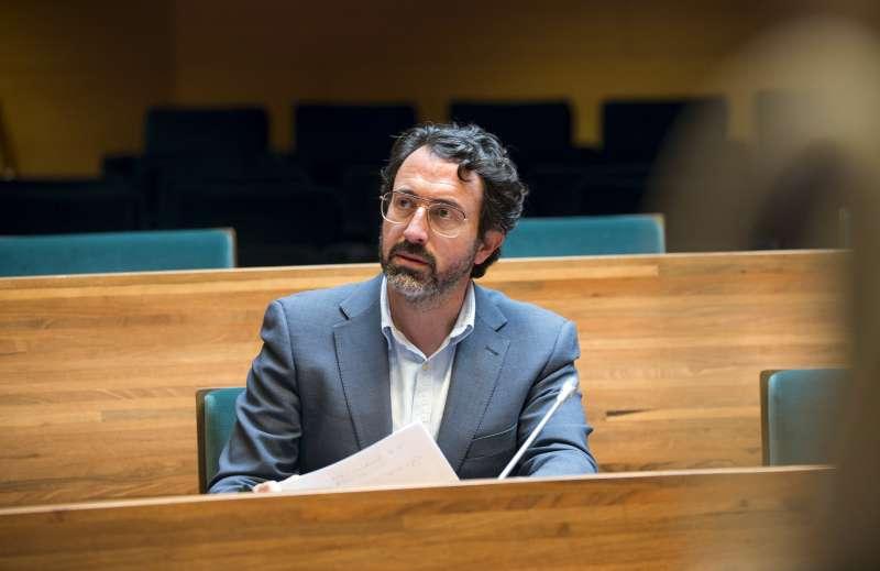 El diputado de Hacienda, Vicent Mascarell. / EPDA