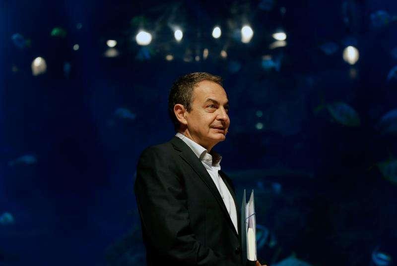El expresidente del Gobieno José Luis Rodríguez Zapatero, en una visita anterior a València. EFE/Archivo