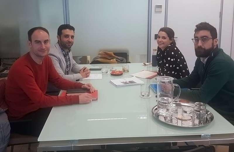 Reunión secretaria autonómica de movilidad. EPDA