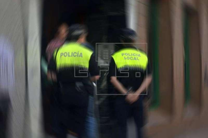 Agents de la policia loca. EFE