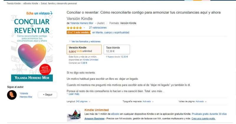 Libro en Amazon