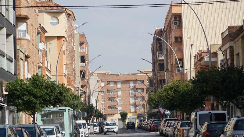 Una de las calles de la Pobla de Vallbona. / EPDA