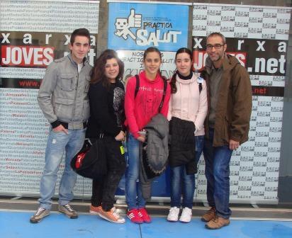 Joves corresponsals de Picassent. Foto: EPDA.