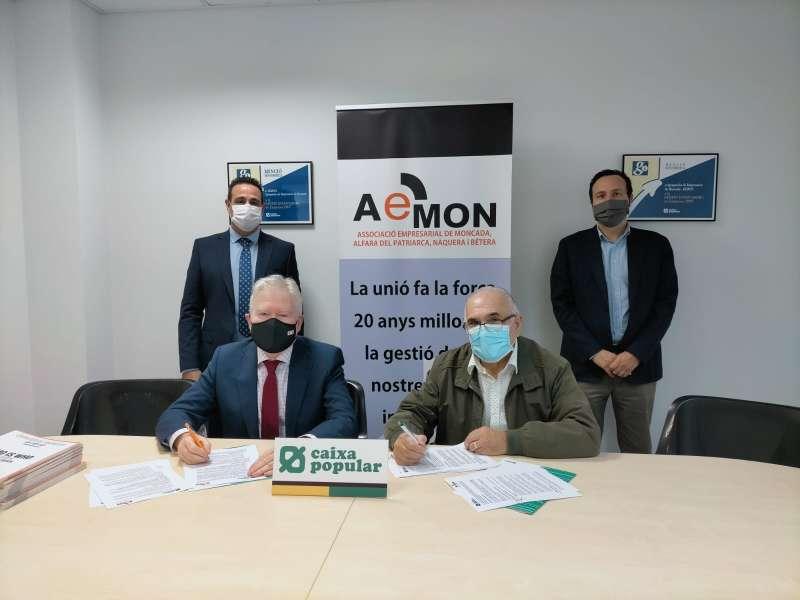 Firma del acuerdo. EPDA