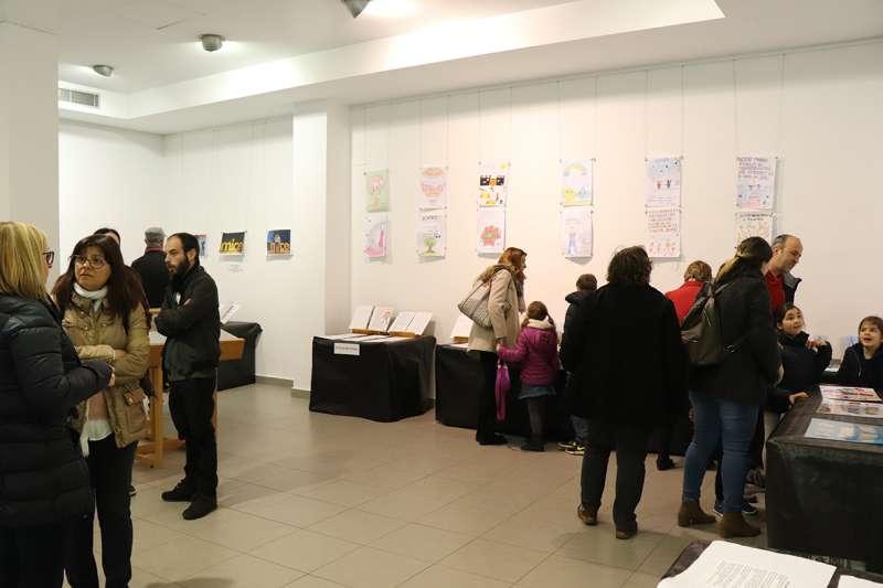 Exposició dels treballs en Rafelbunyol. EPDA