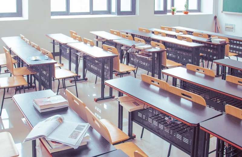 Aula de un centro educativo de Paterna. EPDA