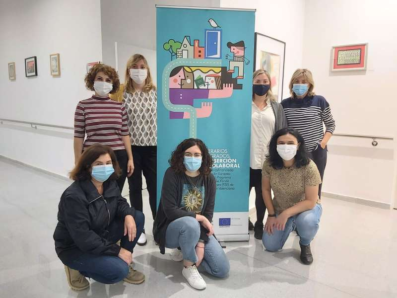 Participants en els itineraris en Meliana. EPDA
