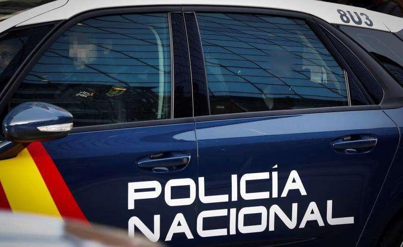 Coche de Policía Nacional. EPDA