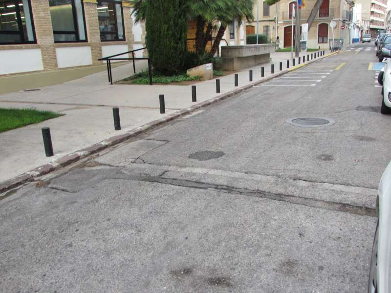Repavimentación de las calles en Massanassa