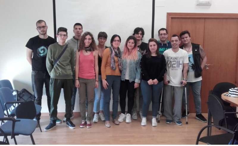 Imagen de archivo, taller de video currículum. EPDA