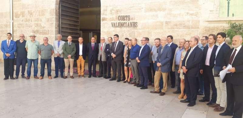 Juristes valencians en Les Corts