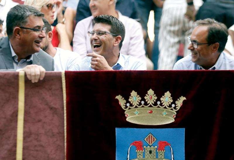 Jorge Rodríguez durante la Entrada de Moros y Cristianos. EFE/Archivo