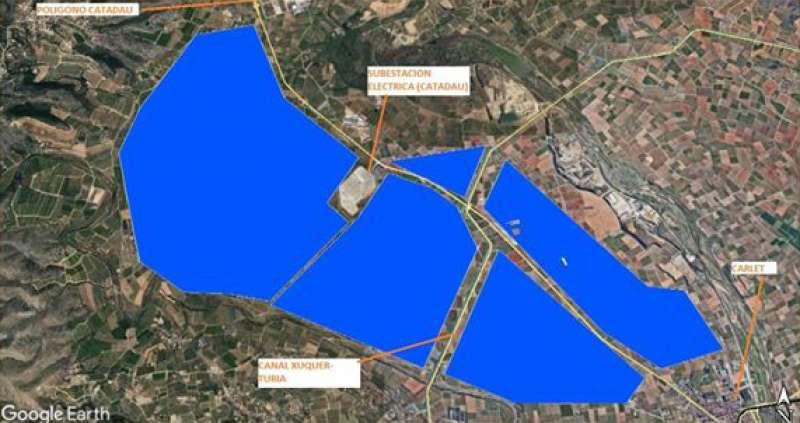 Área afectada por la iniciativa
