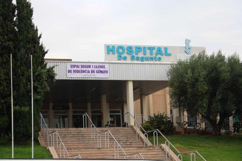 Hospital de Sagunt, foto de archivo.