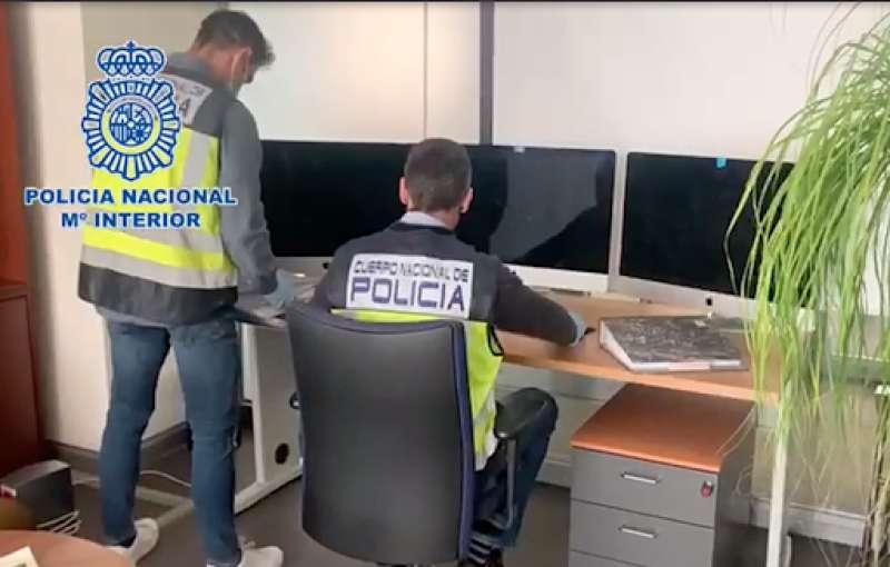Policia Nacional destapan delito de estafa / EPDA