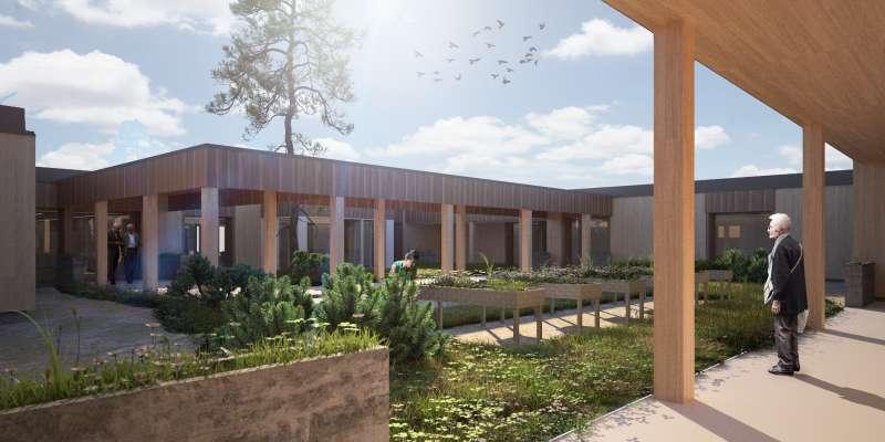 Projecte del Centre de Dia de Meliana. / EPDA