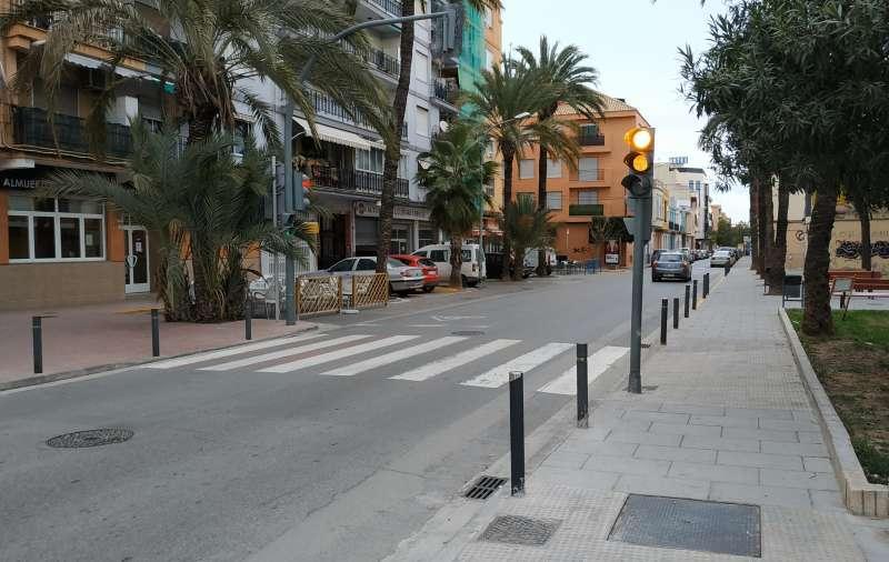 Una calle de Benetússer. EPDA