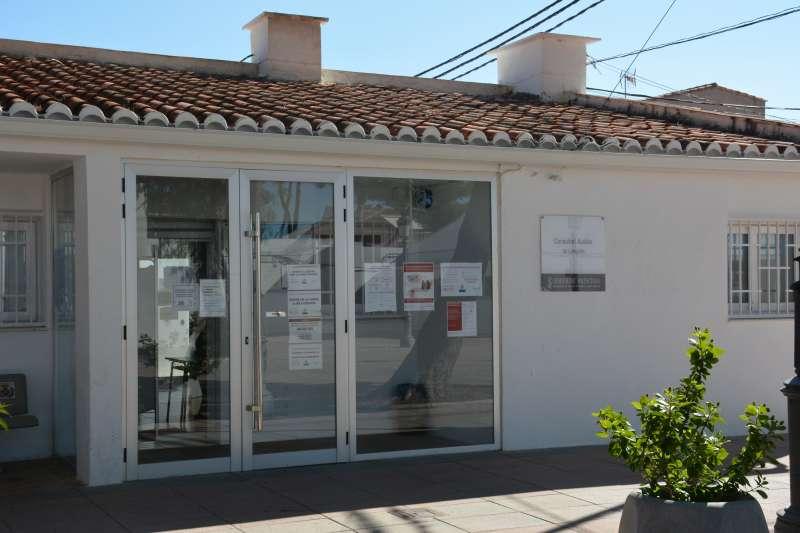 Centro auxiliar médico de Loriguilla. / EPDA