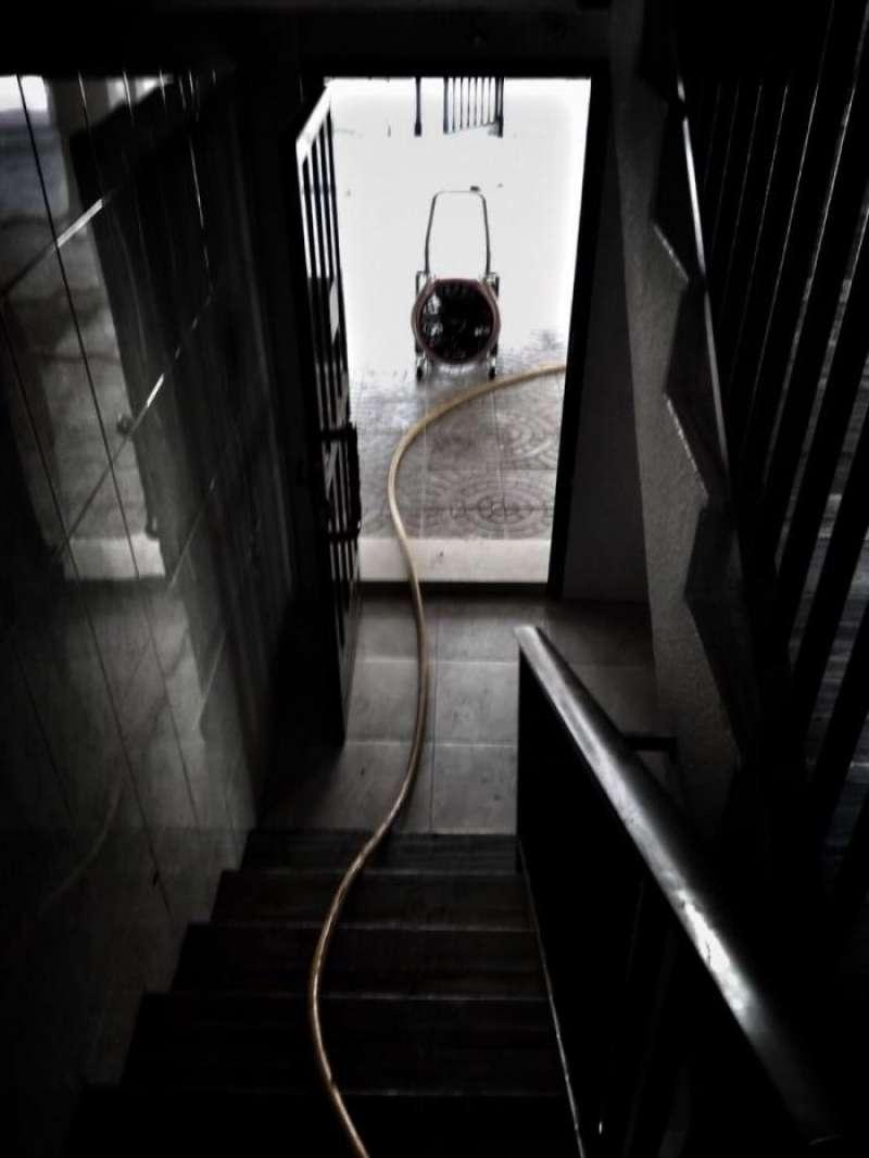 Intervención de los bomberos en una vivienda, en una imagen del Consorcio.