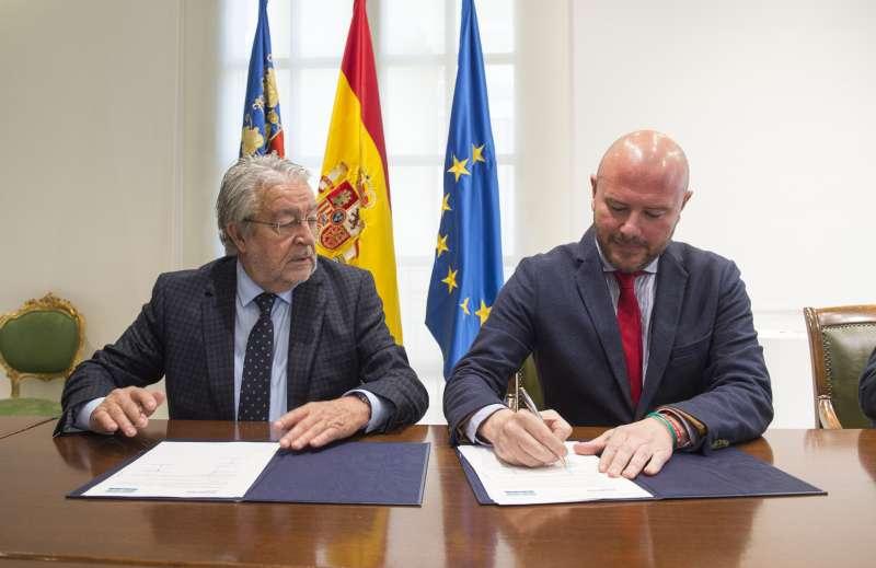 Toni Gaspar y Rafael Alcón. EPDA