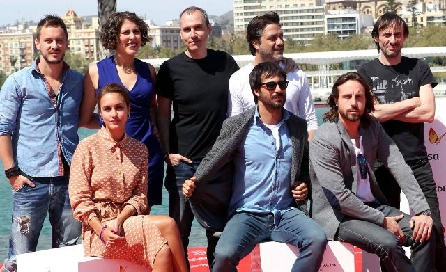 Presenración esta mañana en el Festival de Cine Español de Málaga, dentro de la Sección .